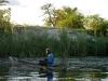 Canoa, Rio Okavango, Namibia
