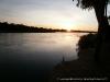 Nascer do Sol, Rio Okavango, Namibia