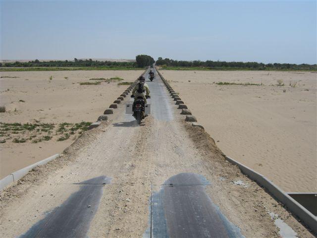 Estrada Tombua para Namibe