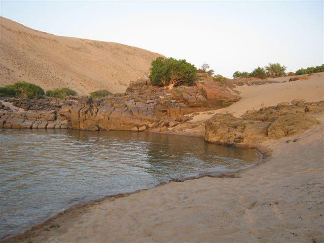Formações geológicas no Iona