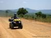 Moto 4 no percurso Benguela Huambo