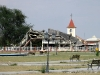 Edifício destruído em Ondjiva