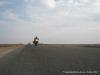 Asfalto em pleno deserto