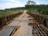 Ponte em mau estado de conservação - data de construção 1996